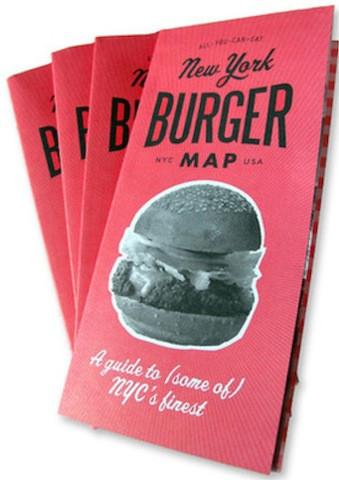 New York Burger Map