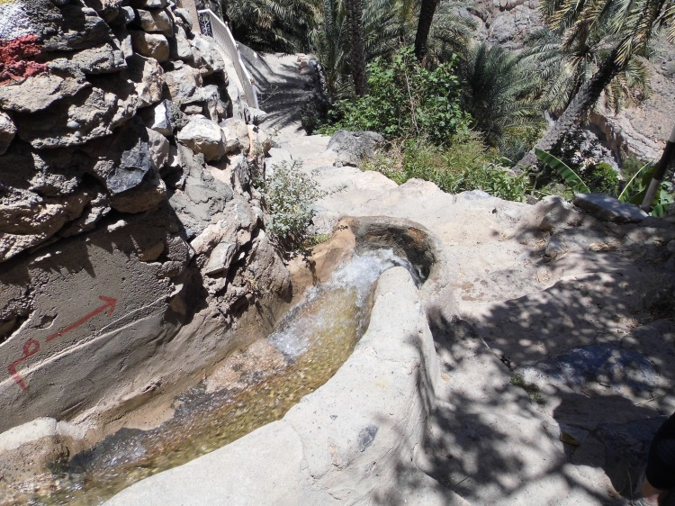 Misfat falaj, an ancient irrigation system still used to this day