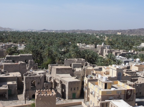 City of Nizwa, once the centre of power of the ruling imams