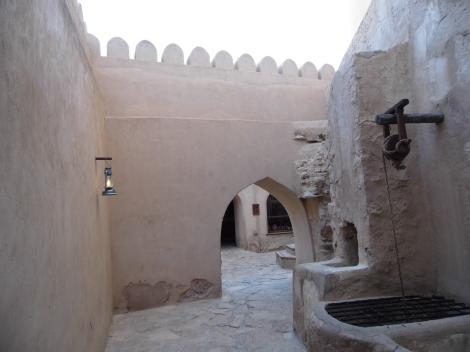 Inside Nizwa Fort