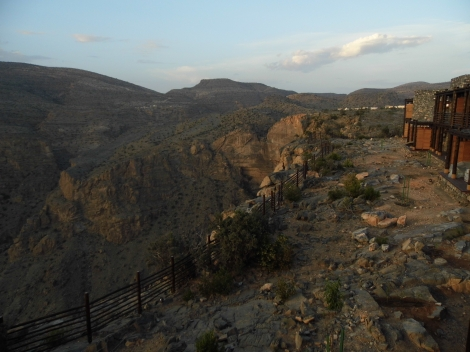 View from Alila Jabal Akhdar