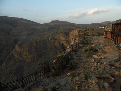 View from Alila Jabal Akhdar